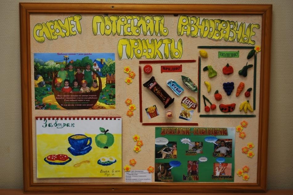 Конкурс правильное питание в детском саду